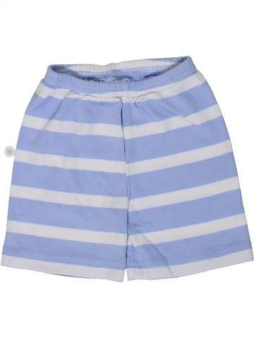 Short - Bermuda garçon THE LITTLE WHITE COMPANY bleu 6 mois été #1295801_1