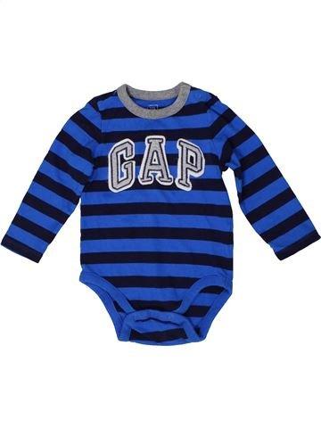 Camiseta de manga larga niño GAP azul 2 años invierno #1295850_1
