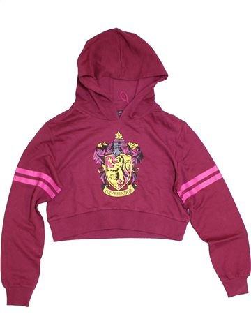 Sweat fille HARRY POTTER violet 13 ans hiver #1295981_1