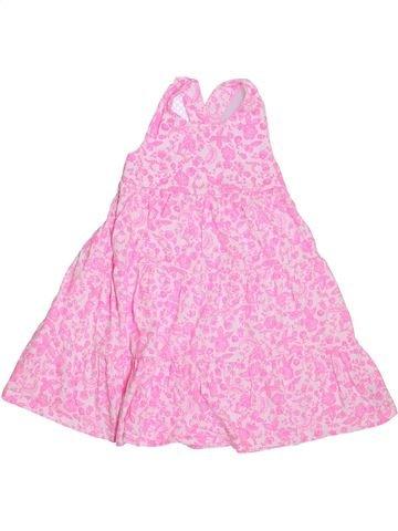 Vestido niña MOTHERCARE rosa 4 años verano #1296928_1