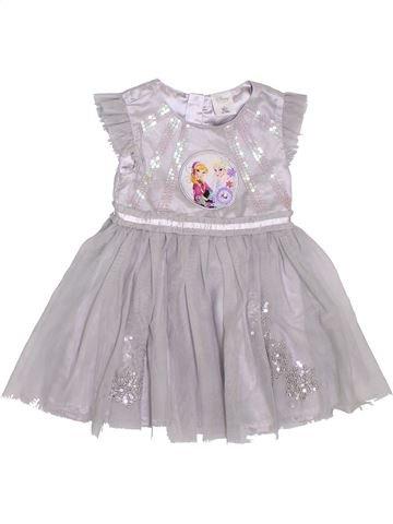 Vestido niña DISNEY gris 4 años invierno #1296935_1