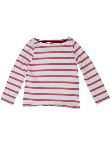 Camiseta de manga larga niña JOHN LEWIS blanco 5 años invierno #1297405_1