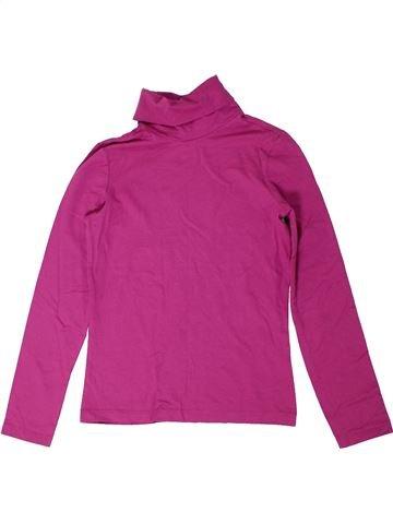 Camiseta de cuello alto niña ALIVE rosa 10 años invierno #1297488_1