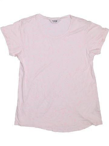 T-shirt manches courtes fille TAMMY blanc 11 ans été #1298127_1