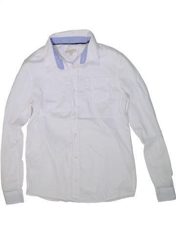 Chemise manches longues garçon JOHN LEWIS blanc 12 ans hiver #1298572_1