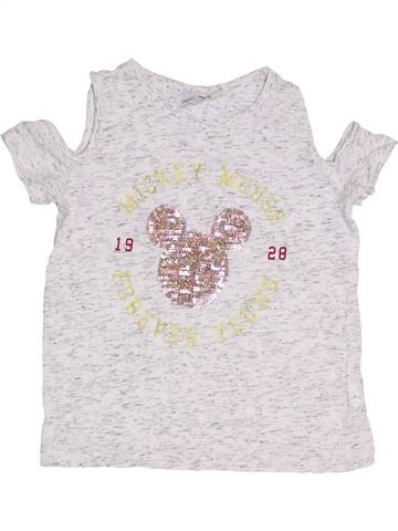 Camiseta de manga corta niña DISNEY blanco 10 años verano #1298812_1