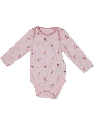 Camiseta de manga larga niña MARKS & SPENCER rosa 12 meses invierno #1298880_1