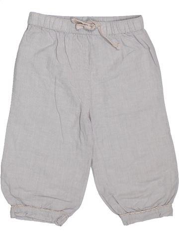Pantalón niña SANS MARQUE gris 3 años verano #1299569_1