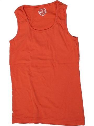 T-shirt sans manches fille LOVE ME rouge 12 ans été #1299659_1
