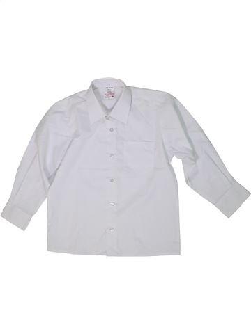 Chemise manches longues garçon LADYBIRD blanc 6 ans hiver #1299717_1