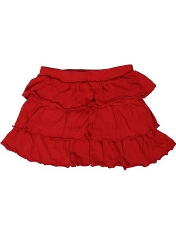 Jupe fille OVS rouge 7 ans été #1300062_1