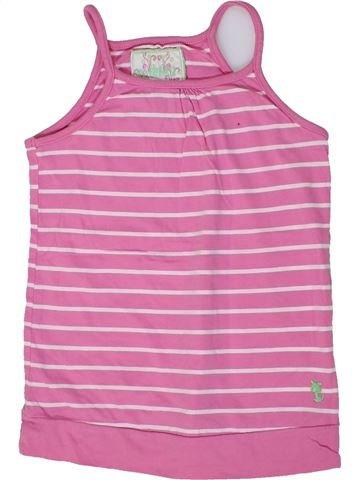 T-shirt sans manches fille CHEROKEE violet 9 ans été #1300287_1
