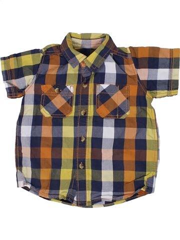 Chemise manches courtes garçon NUTMEG gris 3 ans été #1300296_1
