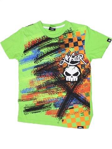 Camiseta de manga corta niño NO FEAR verde 13 años verano #1300322_1