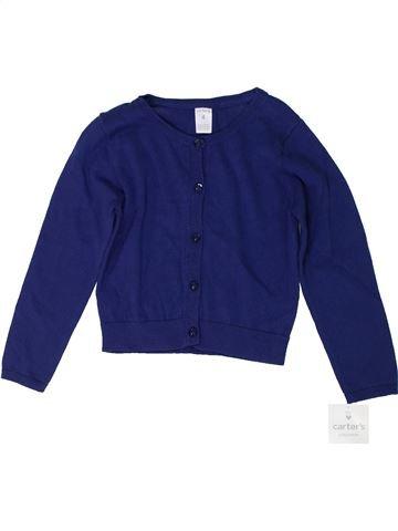 Gilet fille CARTER'S bleu 4 ans hiver #1300424_1
