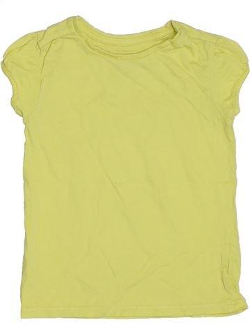 Camiseta de manga corta niña TU amarillo 5 años verano #1300740_1