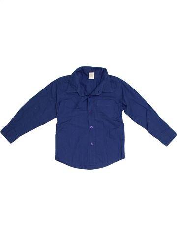 Chemise manches longues garçon TINY TED bleu 3 ans hiver #1300806_1