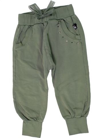 Pantalon fille ORIGINAL MARINES vert 6 ans hiver #1300817_1