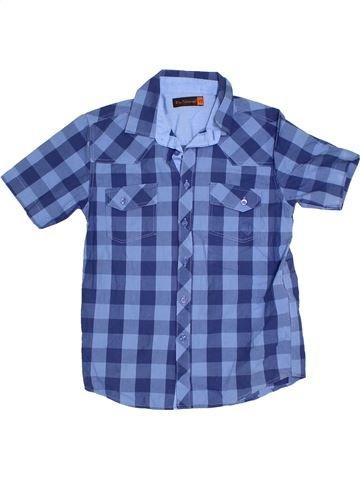 Chemise manches courtes garçon BEN SHERMAN bleu 9 ans été #1300830_1