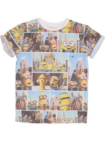 Camiseta de manga corta niño LES MINIONS gris 8 años verano #1300855_1