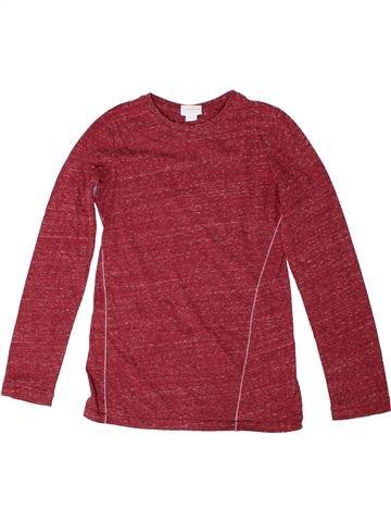 T-shirt manches longues fille DIESEL rouge 9 ans hiver #1301020_1