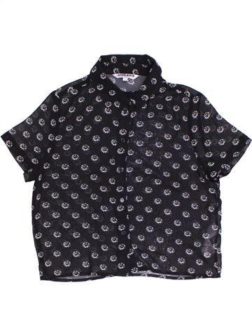Blusa de manga corta niña NEW LOOK negro 12 años verano #1301073_1