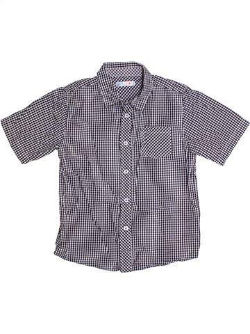 Chemise manches courtes garçon M&CO gris 9 ans été #1301105_1