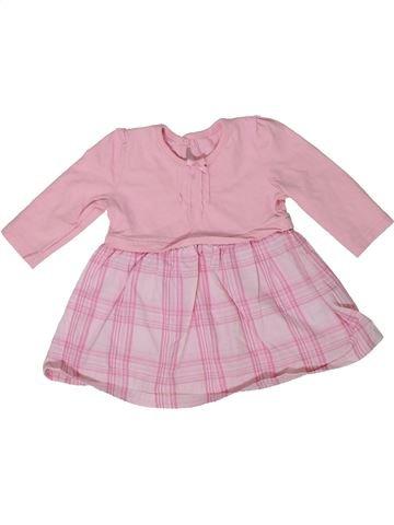Vestido niña GEORGE rosa 1 mes invierno #1301163_1