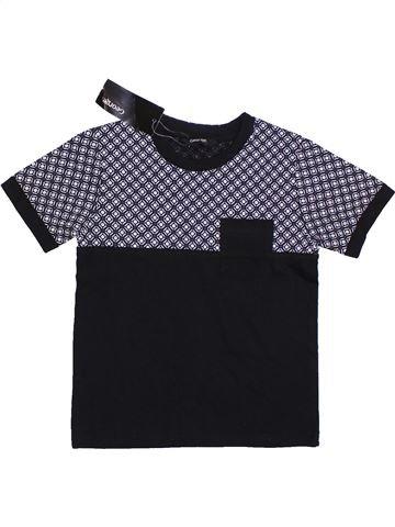 Camiseta de manga corta niño GEORGE negro 4 años verano #1301198_1