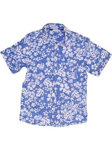 Camisa de manga corta niño JOHN LEWIS azul 11 años verano #1301264_1