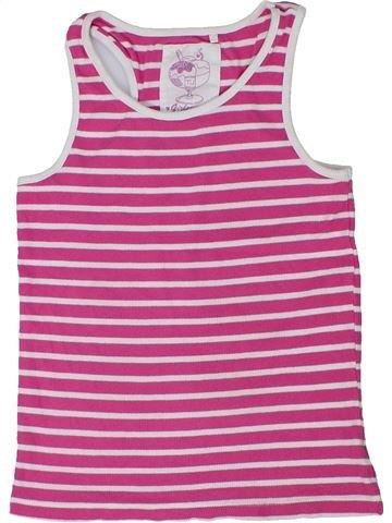 Camiseta sin mangas niña TU rosa 9 años verano #1301371_1