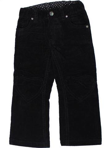 Pantalon fille H&M noir 3 ans hiver #1301487_1