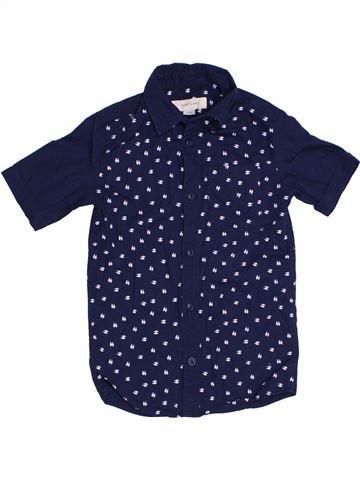 Chemise manches courtes garçon RIVER ISLAND bleu 4 ans été #1301500_1