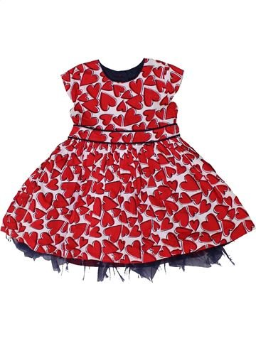 Vestido niña MATALAN rojo 2 años verano #1301575_1