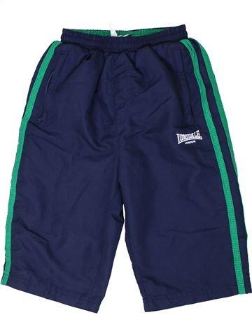 Pantalon corto deportivos niño LONDSALE azul 8 años verano #1301602_1