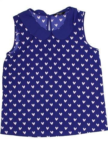 Blusa de manga corta niña NEW LOOK azul 12 años verano #1301788_1