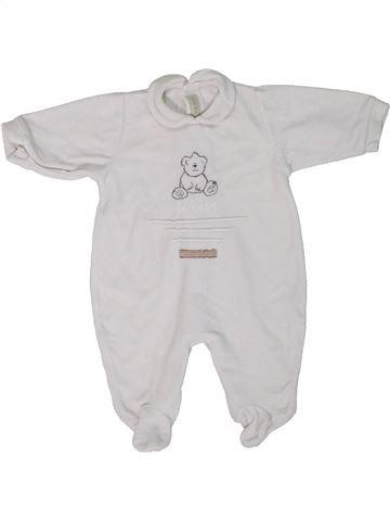 Pyjama 1 pièce unisexe MAMAS & PAPAS blanc naissance hiver #1301931_1