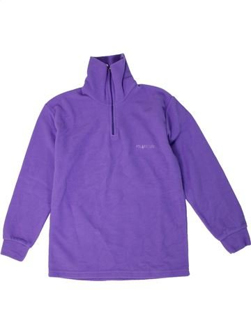 Pull fille POLARCODE violet 8 ans hiver #1302031_1