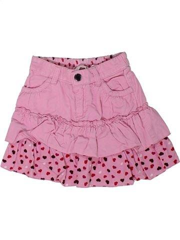 Falda niña H&M rosa 2 años invierno #1302070_1