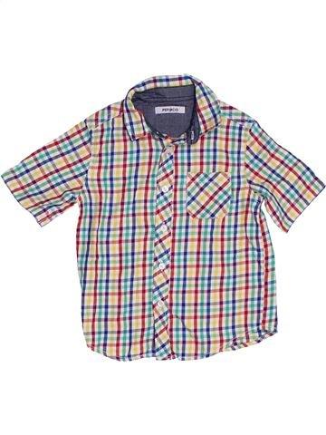 Chemise manches courtes garçon PEP&CO rose 2 ans été #1302137_1