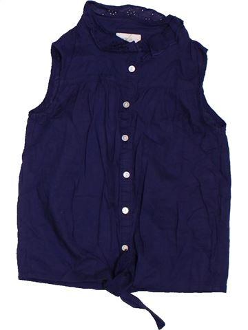 Blusa de manga corta niña H&M violeta 6 años verano #1302141_1