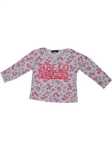 Camiseta de manga larga niña GEORGE violeta 3 años invierno #1302152_1