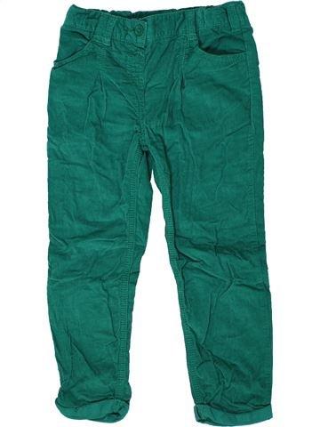 Pantalón niña F&F verde 5 años invierno #1302212_1