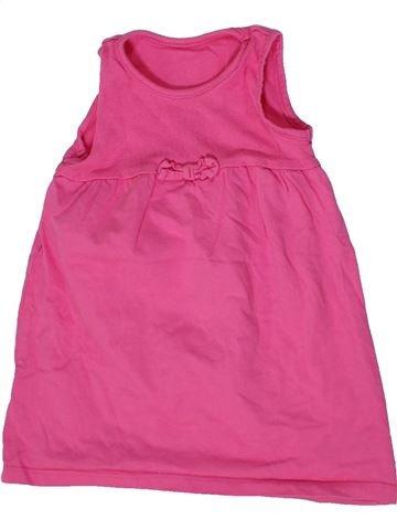Vestido niña GEORGE rosa 12 meses verano #1302219_1