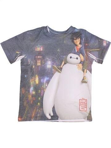 Camiseta de manga corta niño GEORGE gris 4 años verano #1302246_1