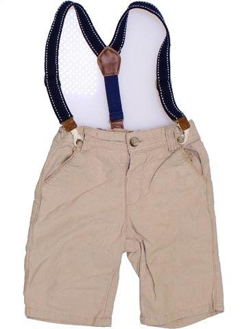 Short-Bermudas niño SANS MARQUE beige 3 años verano #1302281_1