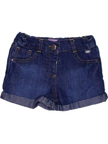 Short-Bermudas niña F&F azul 2 años verano #1302344_1