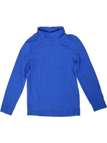 Camiseta de cuello alto niño ORCHESTRA azul 8 años invierno #1302408_1