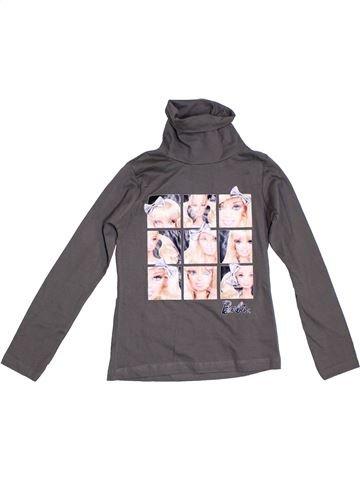 Camiseta de cuello alto niña BARBIE gris 8 años invierno #1302435_1