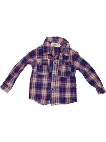 Chemise manches longues garçon SAMGAMI BABY violet 2 ans hiver #1302481_1